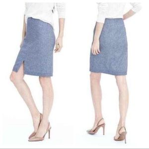 Banana Republic Wool Pencil Skirt